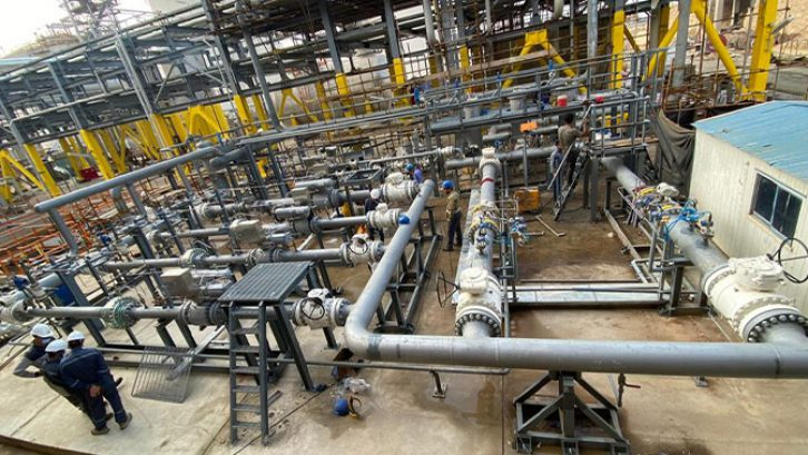 ایستگاه گاز مجتمع پتروشیمی سبلان تکمیل شد